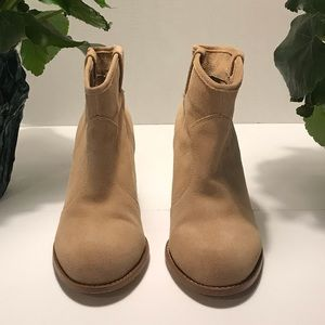 Splendid Lakota pull on suede booties